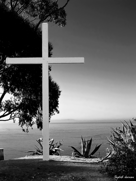 Catalina Cross in Black and White